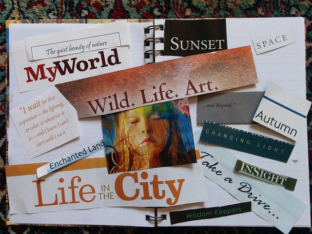 Branding Challenge  Day 8. The Importance of a Vision Board